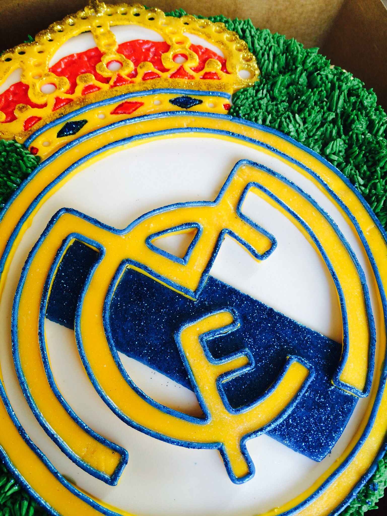 Real Madrid Cake By Miss Vivi Cake Pinterest Madrid Real