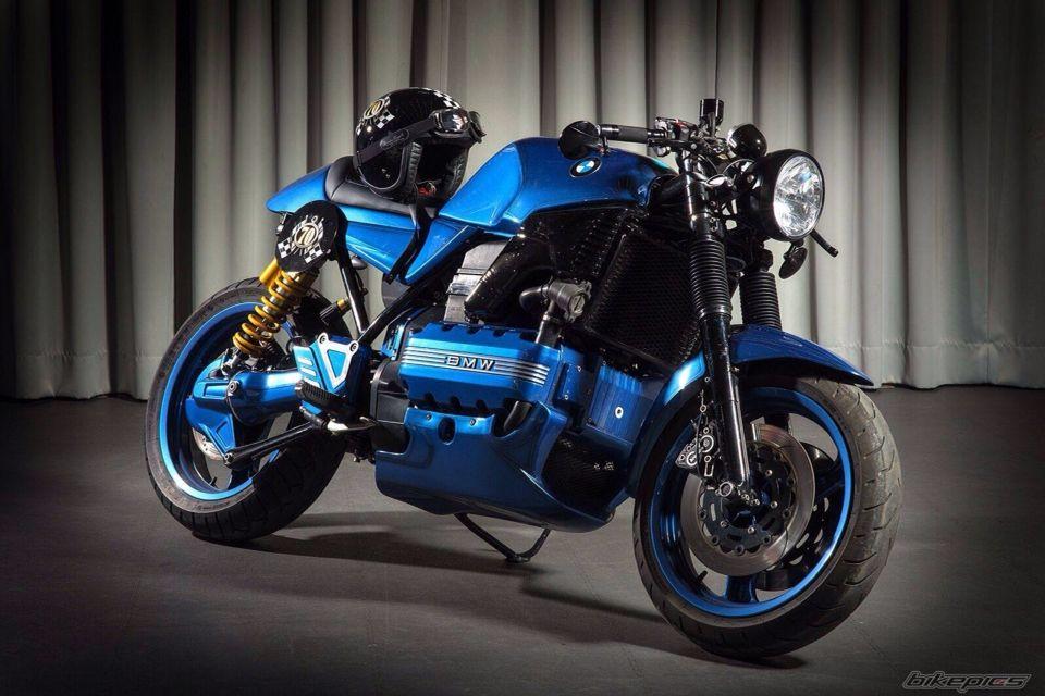 BMW K1100 | CUSTOM MOTORCYCLES | Bmw cafe racer, Bmw