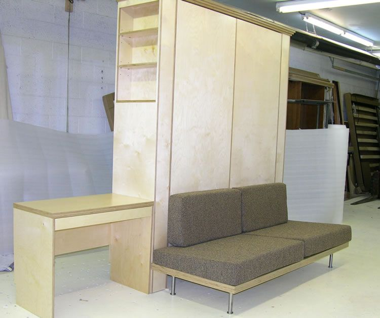 Marks NYC Retro Sofa Queen Bed System Murphy Bed Pinterest