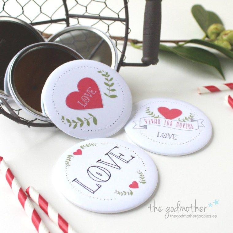 86783a367 Espejos para bodas- detalles para invitados boda  http://www.thegodmothergoodies.