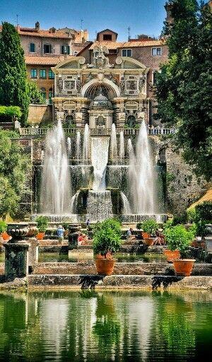 Villa d'Este - Tivoli Italia http://www.symbolic-ceremony.com