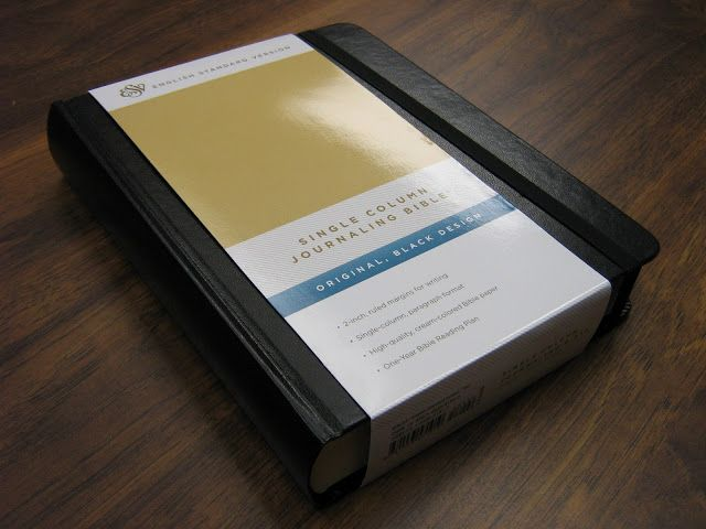 Bible Reading Project: Review: Single Column Journaling Bible