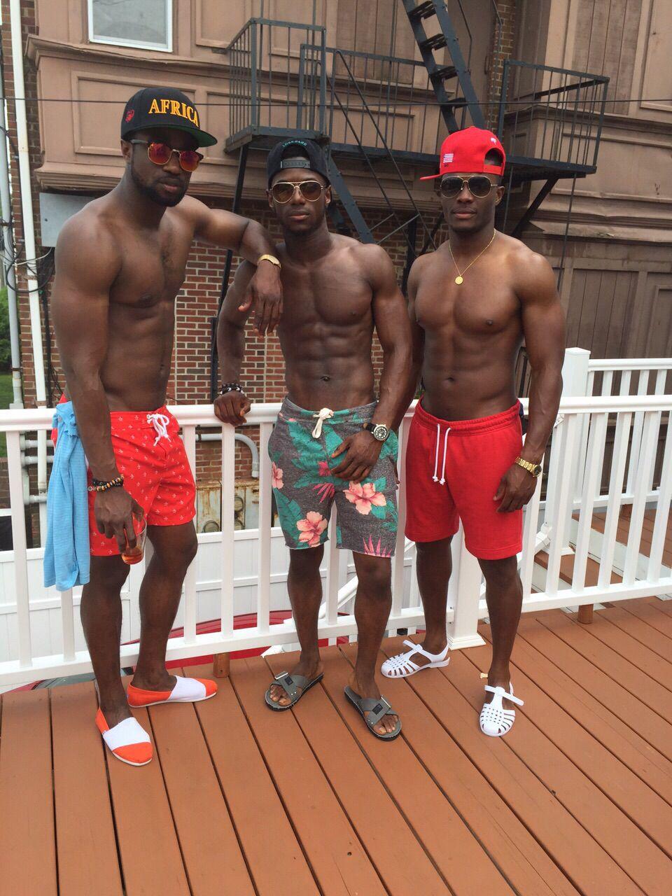 Thug boy black men cock