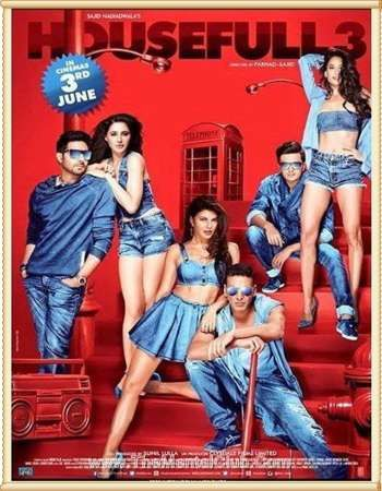 Housefull 3 2016 BRRip 720p 1GB Hindi AAC MKV