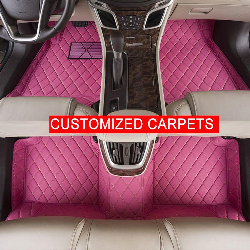 Custom Car Floor Mats Specially For Ssangyong Rexton Korando Actyon Foot Carpets Automobile