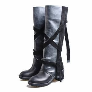 prova perfetto women knee high boots straps platform
