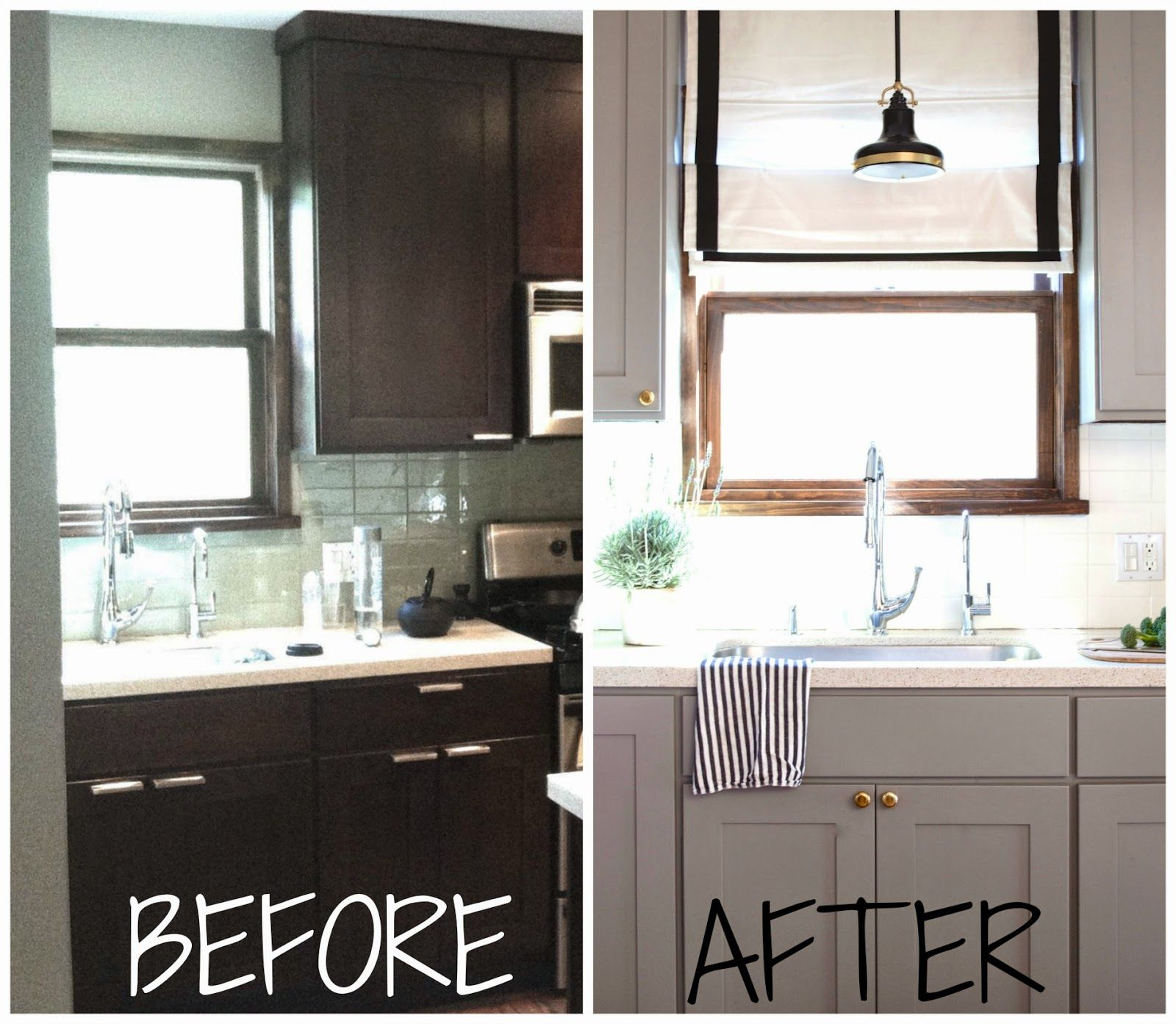 "Can You Repaint Kitchen Cabinets: Benjamin Moore ""Eagle Rock"" Is My Go-to For A Rich And"