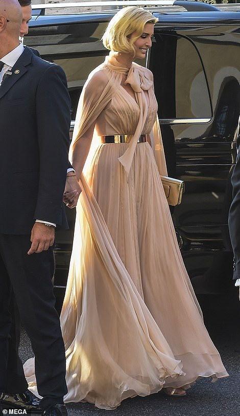 Ivanka Trump 9 20 19 Ivanka Trump Style Hollywood Glamour Dress Ivanka Trump Outfits