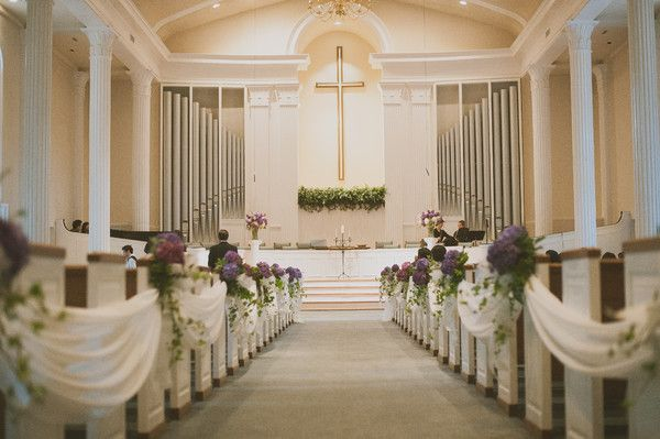 See Jen Rios Weddings On Weddingwire Church Wedding Decorations