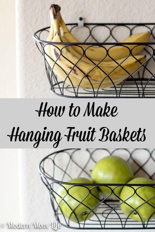 Diy Hanging Fruit Baskets Hanging Fruit Baskets Fruit Baskets Diy Fruit Basket