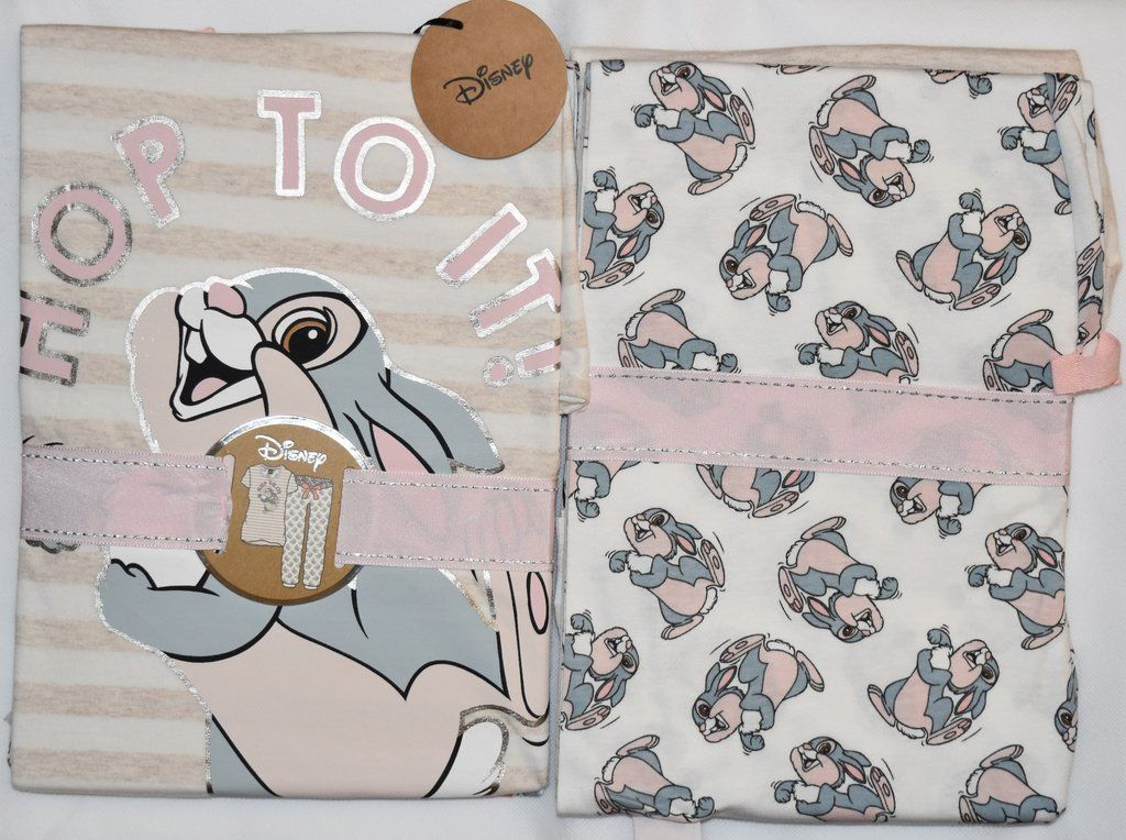 PRIMARK Thumper Disney PJ Set Pyjamas Hop To It Sizes 4-20 NEW