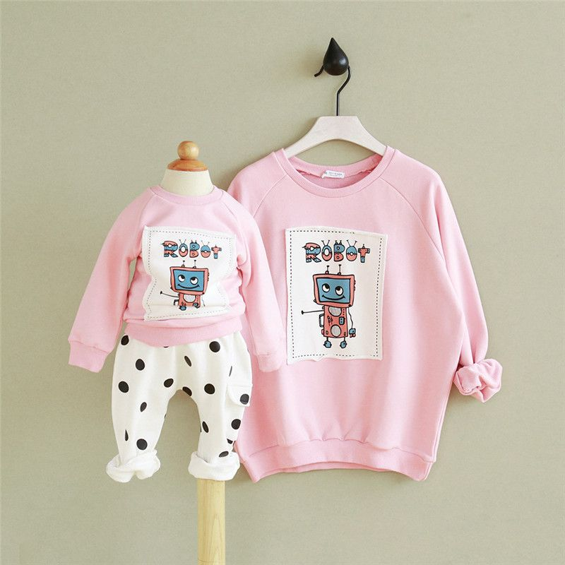 Kids Clothing Mother And Daughter Clothes Family Matching Look Outfits Father Son Baby Shirt For Christmas