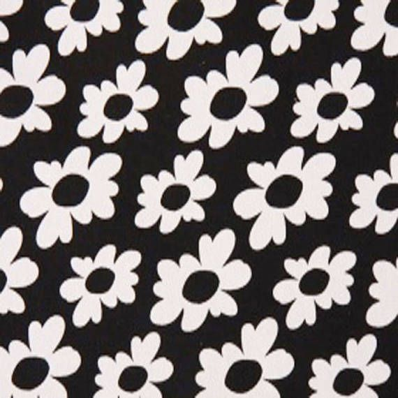 CLEARANCE - Premier Prints Wildflowers Black White Home Decorating ...