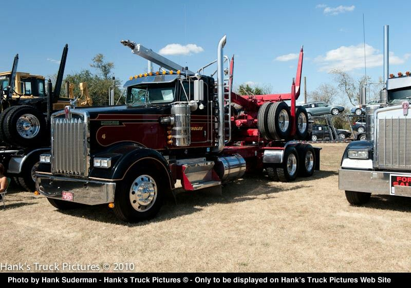 2006 Kenworth Log Truck W900 L From Sweet Home Oregon Model