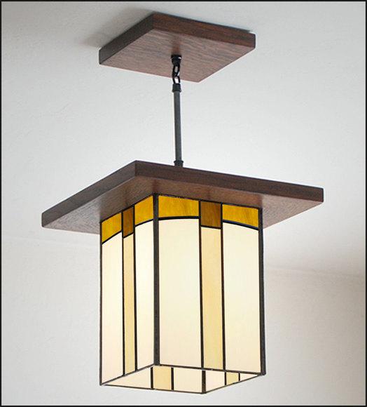 Craftsman Style Pendant Light Hall Entryway Kitchen