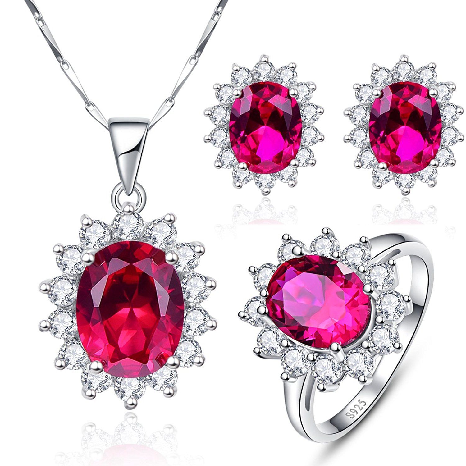 gold copy ruby dsc wedding jewellery necklace collection jewelry bridal