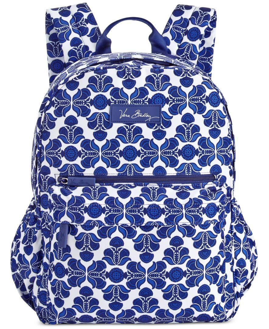97e12f4b0c Vera Bradley Lighten Up Just Right Backpack