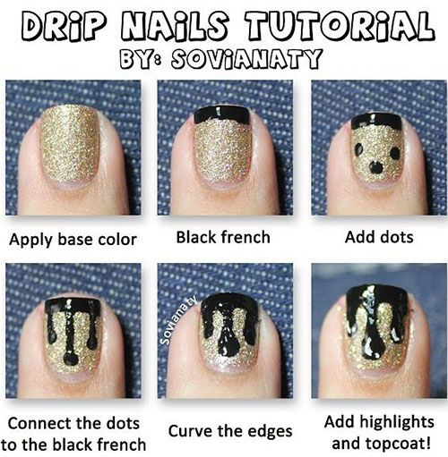Through tutorials, learning has become a child's play. The experts have taken the initiative to bring us closer to the procedure and process of nail art.
