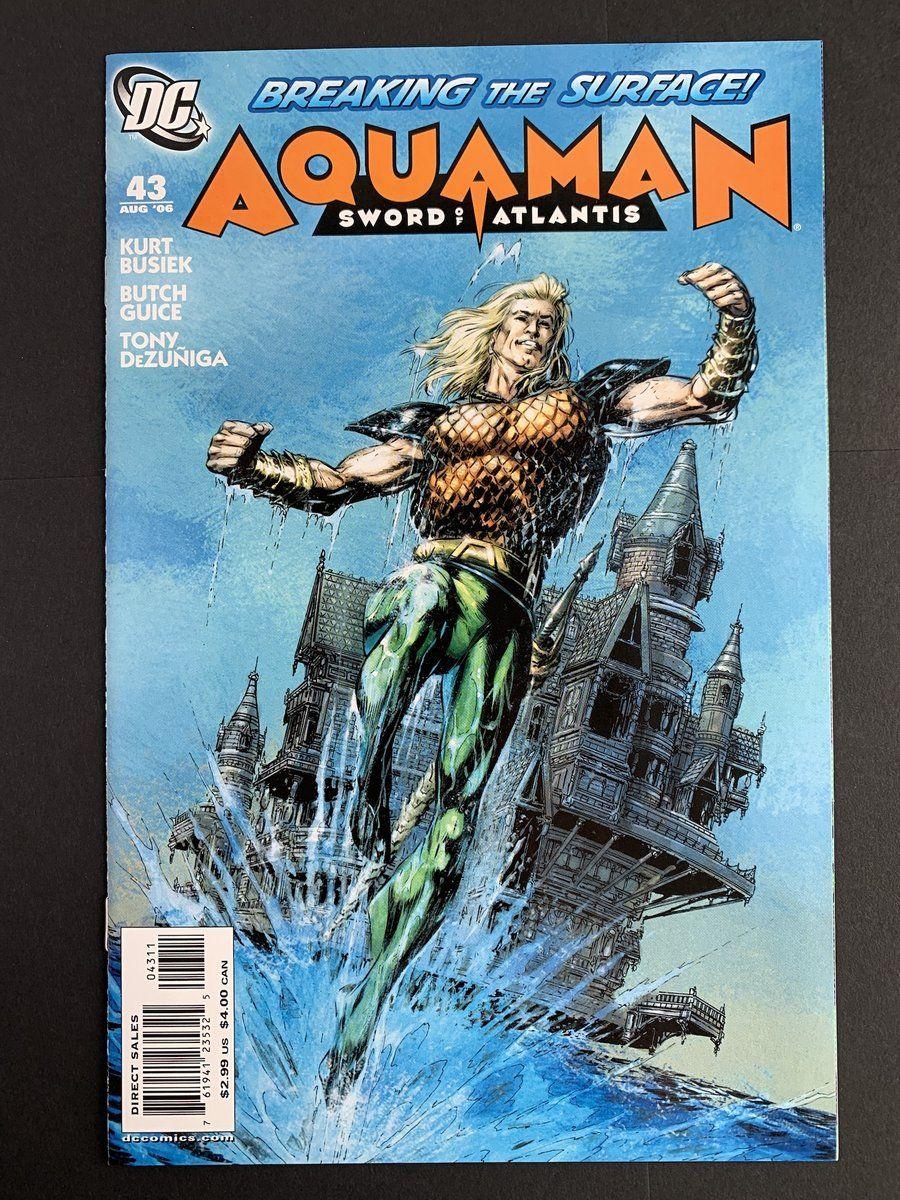 Aquaman sword of atlantis 2006 43 nm with images