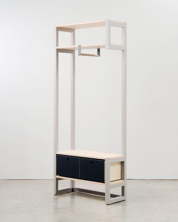 9x9 Room Design: 9x9 Open Wardrobe By Knauf & Brown
