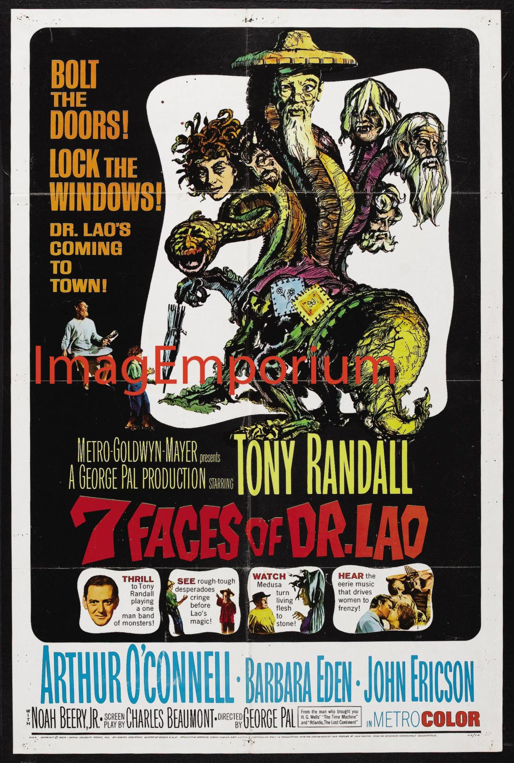 7 Faces of Dr Lao Vintage Movie posters (download) | Etsy