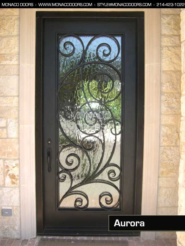 Single Wrought Iron Entry Door Images Google Search Iron Door