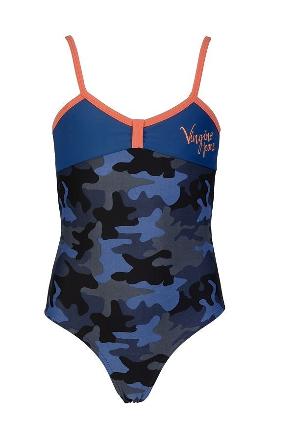 b76662498ac06b Vingino badpak voor meisjes Zola blue, blauw | Zwemkleding voor kids ...