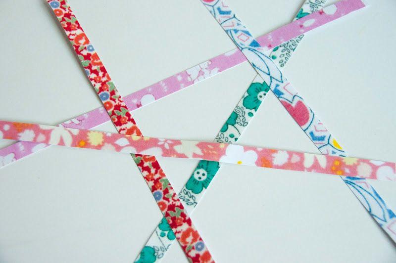 Aesthetic Nest: Craft: DIY Printed Paper Tape (Washi Tape Tutorial)