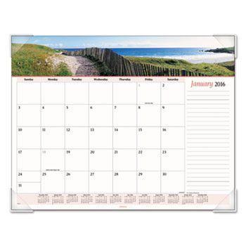 Seascape Panoramic Desk Pad, 22 X 17, 2016