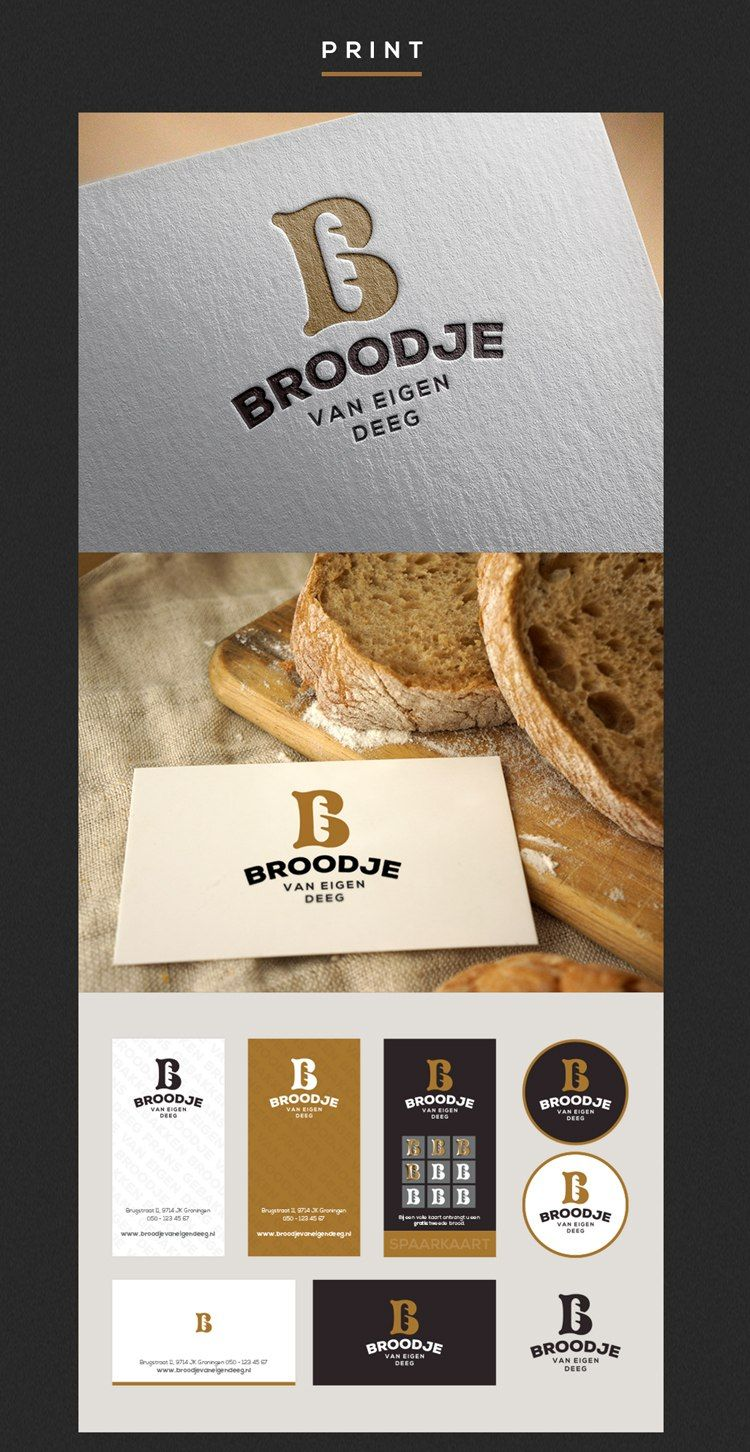 Branding a French Bakery in the Netherlands Panaderías