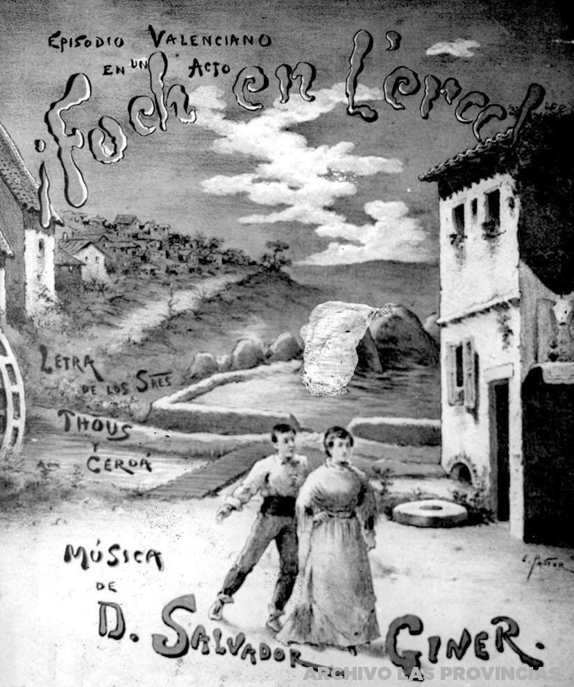 El músico Salvador Giner estrena Foch en l´era | Valencia 1900