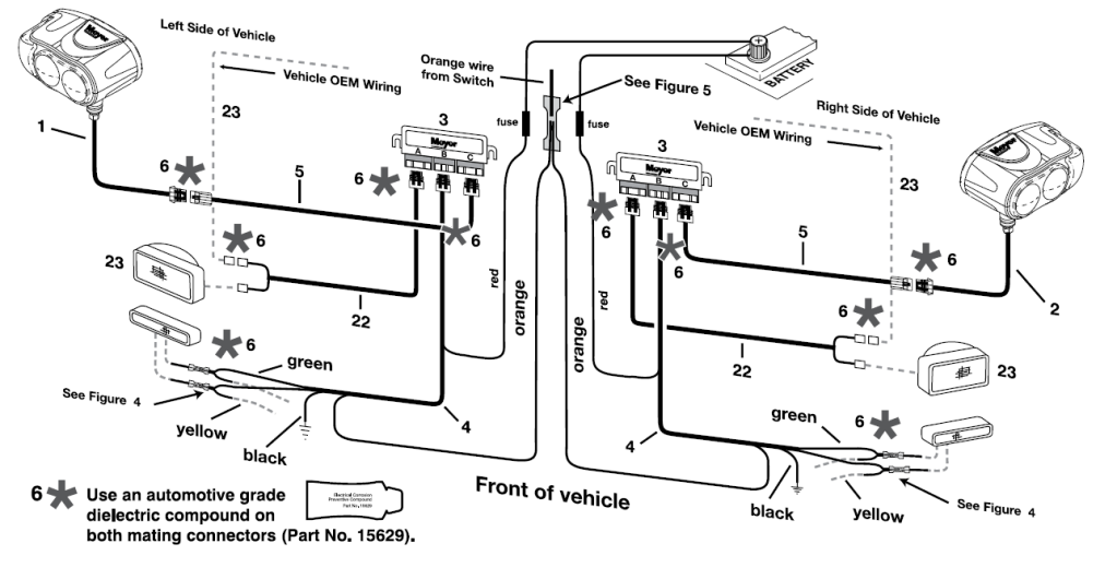 curtis snow plow wiring harness schematic  2002 fleetwood