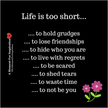 Life is too short..... | Inspirational quotes motivation ...