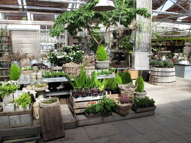 SlideshowTerrain Garden center displays, Garden shop