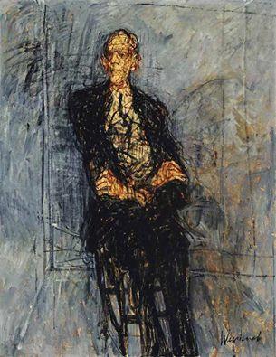 Claude Weisbuch - Portrait of a man