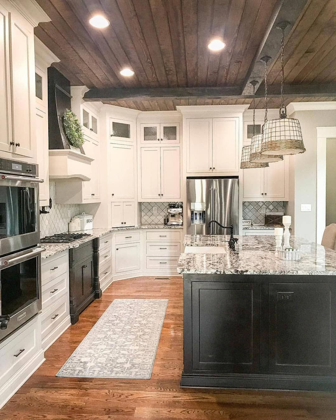 Basic kitchen cabinets  Oh to have a kitchen like this  kitchendecor kitchengoals