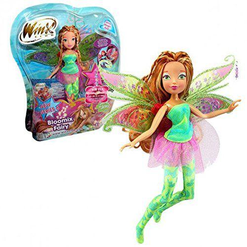 winx club bloomix fairy f e flora poup e 28cm jeux et jouets club winx. Black Bedroom Furniture Sets. Home Design Ideas