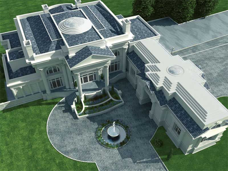 European French Home With 5 Bdrms 9745 Sq Ft House Plan 106 1179 House Plans Architecture Luxury House Plans