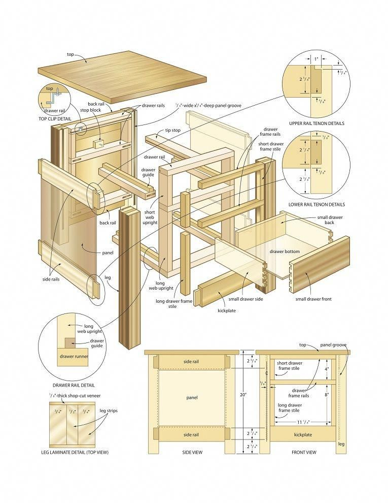 Free Woodworking Plans End Table Woodworking Plans