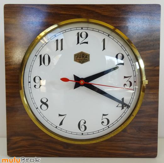 déco vintage horloge jura transistor pendule réveil sur