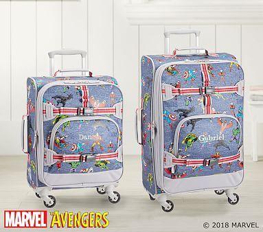 Marvel Glow In The Dark Avengers Luggage Kids Luggage