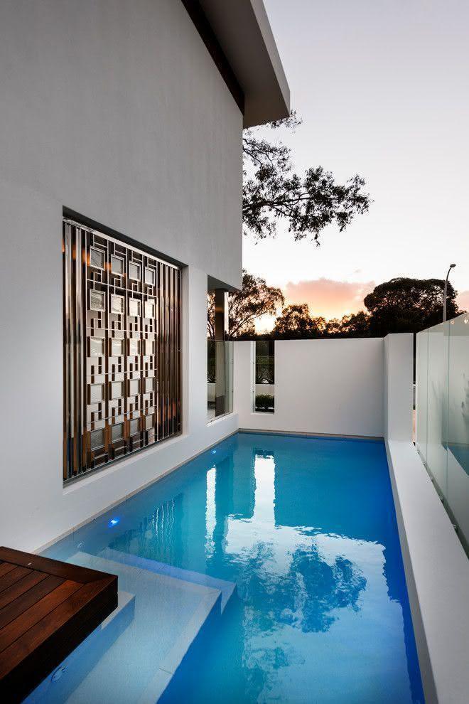 90 piscinas pequenas modelos projetos fotos lindas piscinas pinterest piscina pequena - Modelos de piscinas pequenas ...