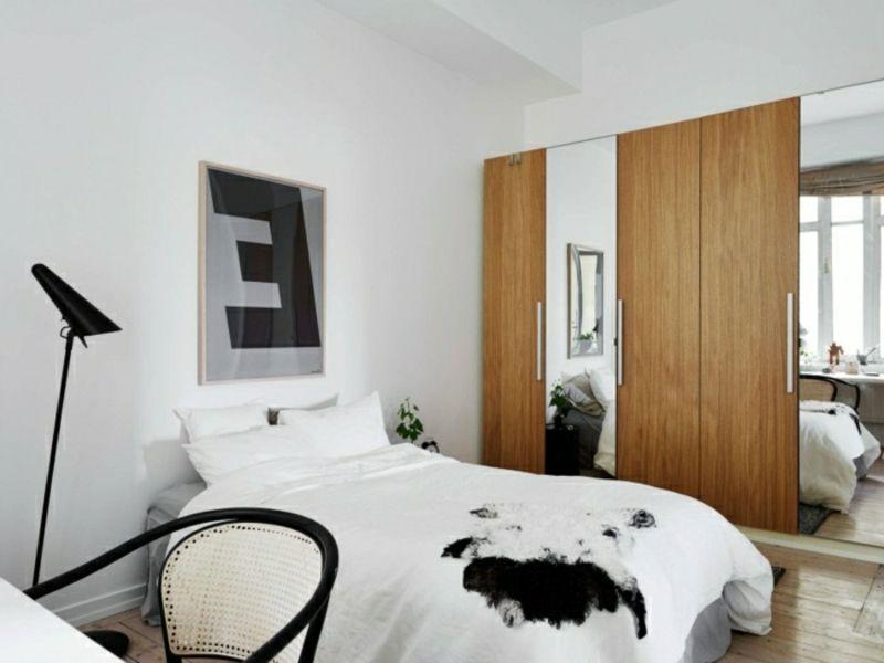 skandinavische mbel u2013 45 stilvolle und moderne einrichtungsideen schlafzimmer ideen fr kleine rume - Kleine Stilvolle Schlafzimmerideen