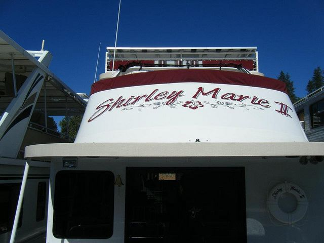 Houseboatgraphicsboatnamevinyldecalkentucky Graphics And Logos - Custom designed houseboat graphics
