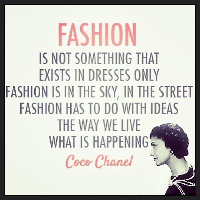 -Coco Chanel-