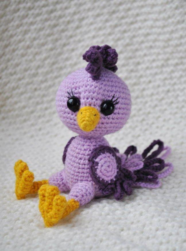 Crochet bird amigurumi pattern | Patrones amigurumi y Patrones