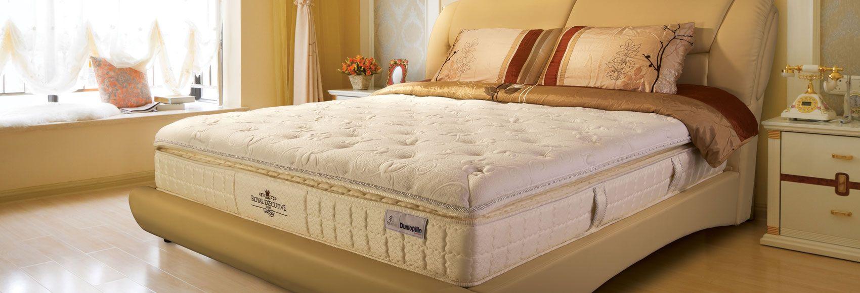 Dunlopillo World Royal Executive Luxe Bed Furniture Home Decor