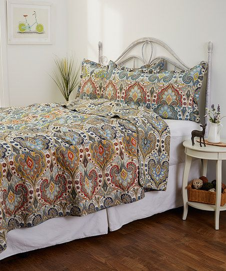 Hedaya Home Fashions Genoa Quilt Set | zulily | For the Home ... : genoa quilt - Adamdwight.com