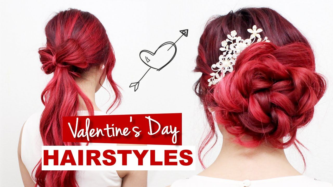 Valentineus day hairstyles tutorial l formal hairstyles for prom