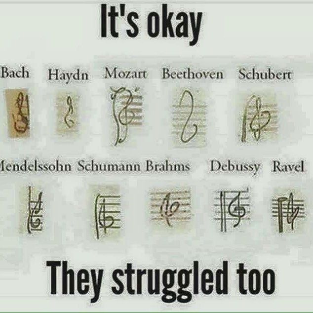 Beethoven Just Doesnt Give A Shit Music Jokes Band Jokes Music